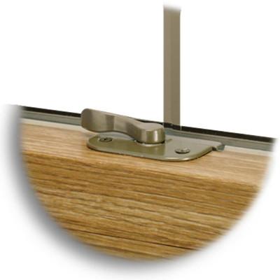 Recessed Lock | Light Oak Finish