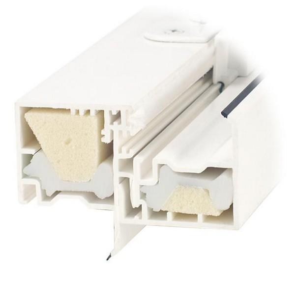 Cut-A-Way View | InterForce II Fiberglass Reinforcement | R-Core Insulation