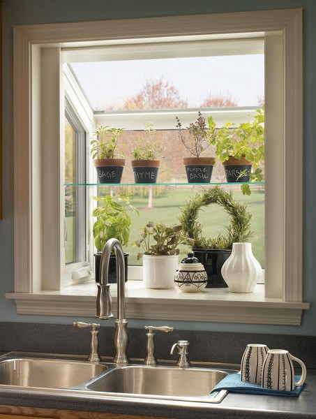 Interior View | White | Garden Window